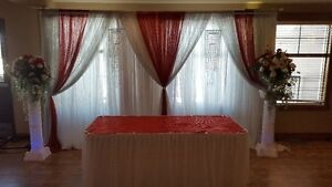 Decor for Wedding, Receptions, and Special Events,