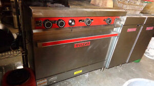 Vulcan Dual Burner, Oven & Flat Griller $950, Excell Auctions