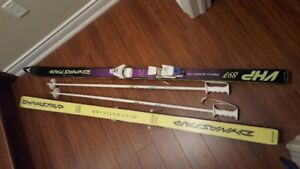 DYNASTAR skis and poles in excellent condition.