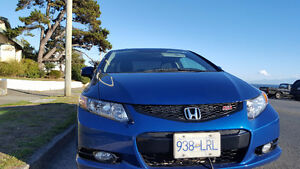 2012 Honda Civic Si Coupe (2 door) Dyno Blue Pearl