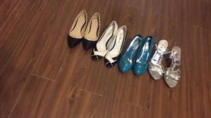 LADIES SHOE LOT SIZE 7 / 7.5