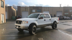 2005 Ford F150 CrewCab Lifted