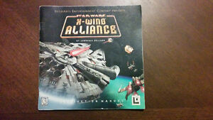 Star Wars X-Wing Alliance Instruction Manual