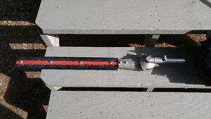 New hedge trimmer atchment and broom husqvarna