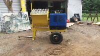 mixer. with 8 hp. motor