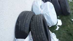 4 All season tires with 50% tread remaining