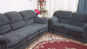 Couch and love seat for sale good condition