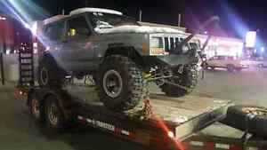 Parting out locked and geared jeep cherokee xj