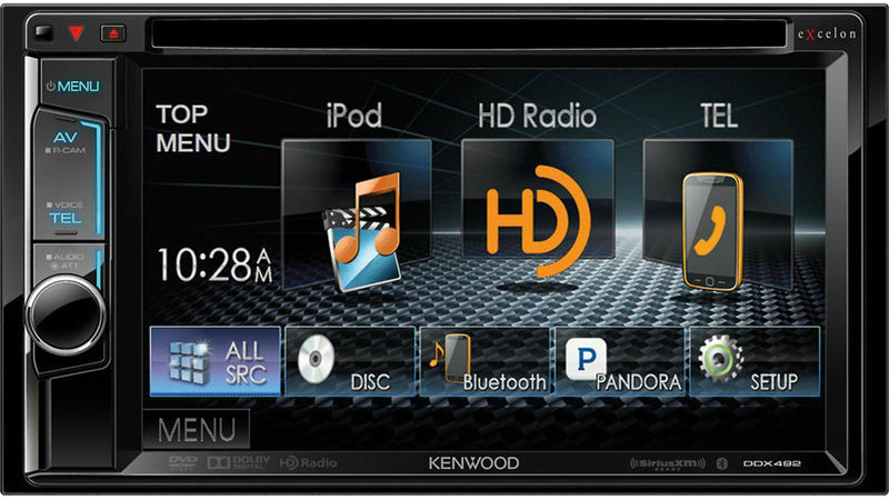 top 10 double din car stereos ebay. Black Bedroom Furniture Sets. Home Design Ideas