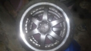 17 inch voxx racing rims