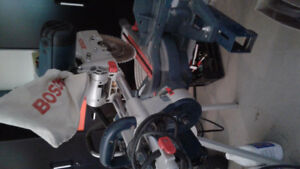 Bosch chop saw with stand