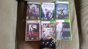 Xbox 360 for sell and games for $130