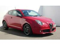 2015 Alfa Romeo MiTo 1.4 TB MultiAir 140 QV Line 3dr TCT Auto Hatchback petrol A
