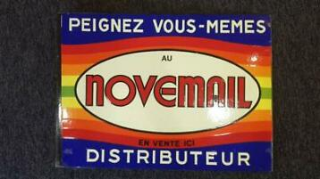 Oude reclame NOVEMAIL