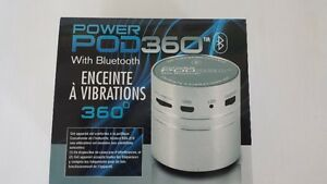 Brand New Power Pod 360 with Bluetooth (silver)