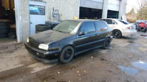 MK3 GOLF GTI ABA BIG TURBO *currently not running**read descript