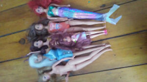Barbies and mermaids