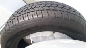 Tires 205/60R16 ALL SEASON Like New