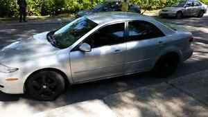 Mazda 6 2005 + new set of winter tires on rims !