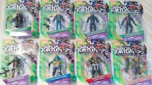 "Teenage Mutant Ninja Turtles Out of the Shadow 5"" Figures"
