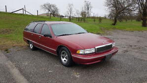 Great find! 1995 Caprice Classic station wagon