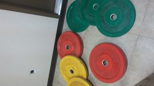 weights (bumper)- OLYMPIC BAR
