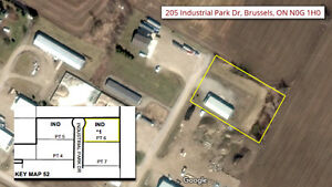 Industrial Property For Sale with Lots of Potential!