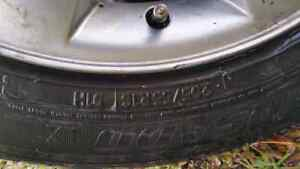 Set of BMW rims withe tires 16