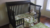 bedroom set that grows:3-in-1 convertible crib and dresser
