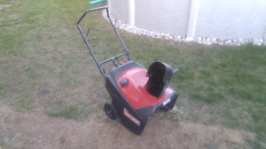 "Craftsman Snowblower. 21"" Needs minor repair"