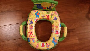 Barely used potty seat with music   $15 Like new.