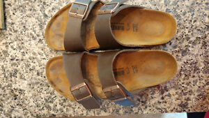 Gently used birkenstocks