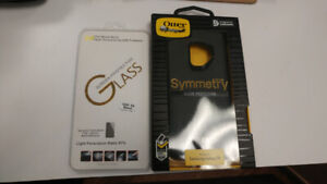 SAMSUNG S9 OTTERBOX & SCREEN PROTECTOR