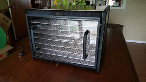 Excalibur 9 Tray Stainless Steel Food Dehydrator