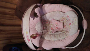 Baby Girl Bounce Chair