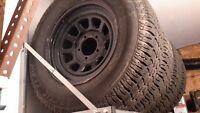 """17"""" winter tires and rims"""