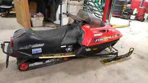 1998 Skidoo Formula SL 500 PART OUT!