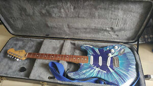 Fender Stratocaster limited edition paint job