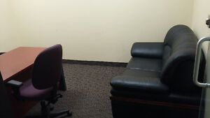 Prime professional office space in South Edmonton with reception