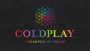 Coldplay: A Head Full of Dreams Tour - BELOW FACE VALUE