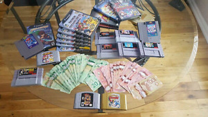 $$$ WANTED: Video Games - Nintendo, Sega, Neo Geo and more $$$