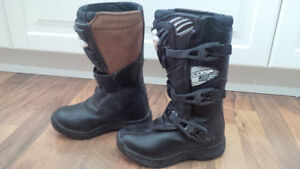 Fox Comp 3 Dirtbike Boots Youth Size 1.