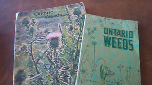 2 Books- Ontario Weeds Kitchener / Waterloo Kitchener Area image 1