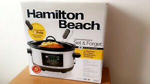 "Hamilton Beach ""5 QT Slow Cooker"""