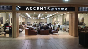 $300 GIFT CERTIFICATES FOR ACCENTS@HOME - FURNITURE STORE