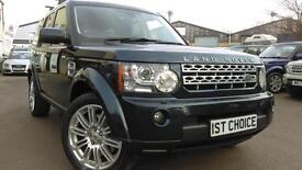 2011 LAND ROVER DISCOVERY 4 TDV6 HSE VDERY LOW MILEAGE HSE FSH A GREAT LOO