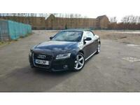 2011 Audi A5 CABRIOLET 2.0 TFSI S line Cabriolet Multitronic 2dr Convertible Pet