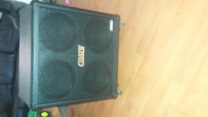 Crate cab loaded with celestion