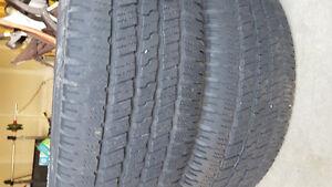 275/60/20 wrangler sra Kitchener / Waterloo Kitchener Area image 1