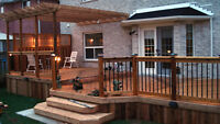 Professional Services For Decks and Basement Finishing